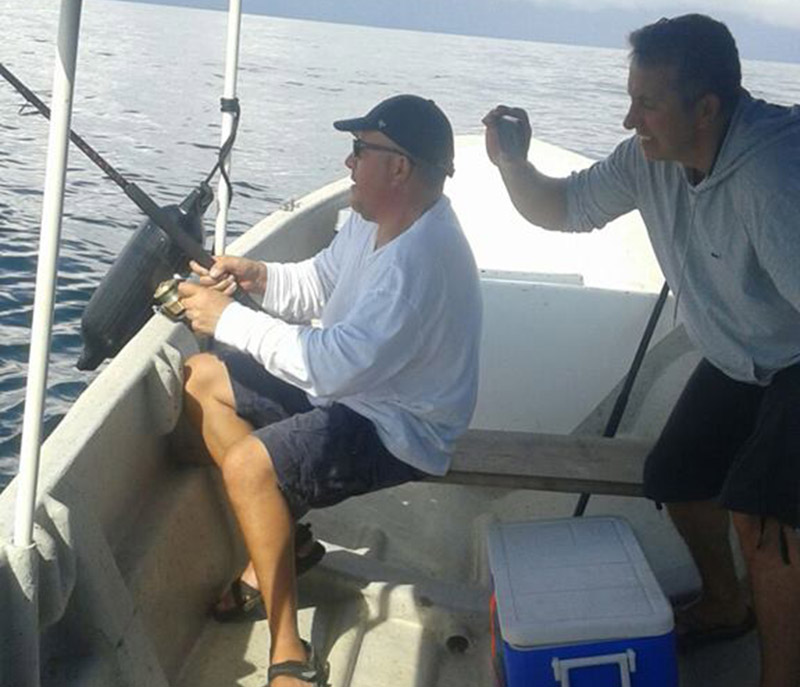 Inshore fishing tour in Boca Chica
